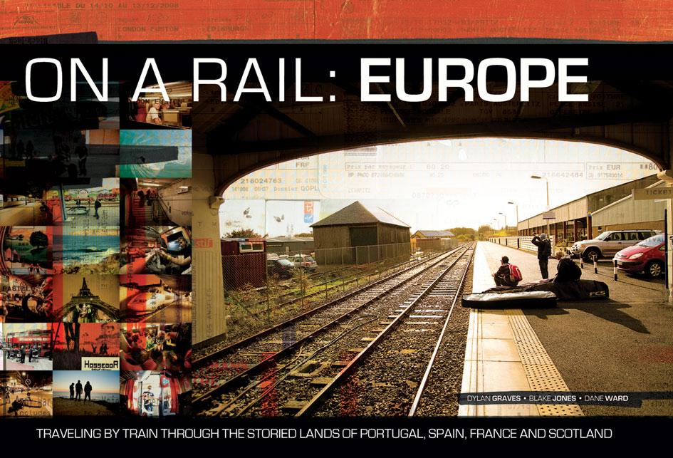 TAR Production's On A Rail cover