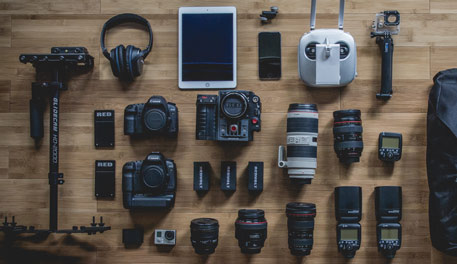 Your career in video is not about gear, but it sure if fun being a tech geek