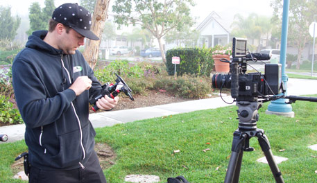 Working with talented crew is a must for us. Gear knowledge is imperative on location.