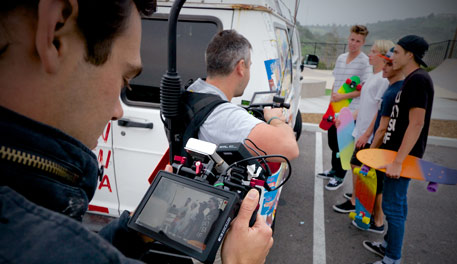 Filmmaking is about being part of a team.