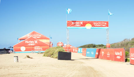 The Hurley Pro at Lowers Trestles, part of the World Surf League