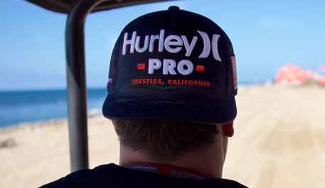 Hurley Pro at Lowers Trestles, part of the World Surf League