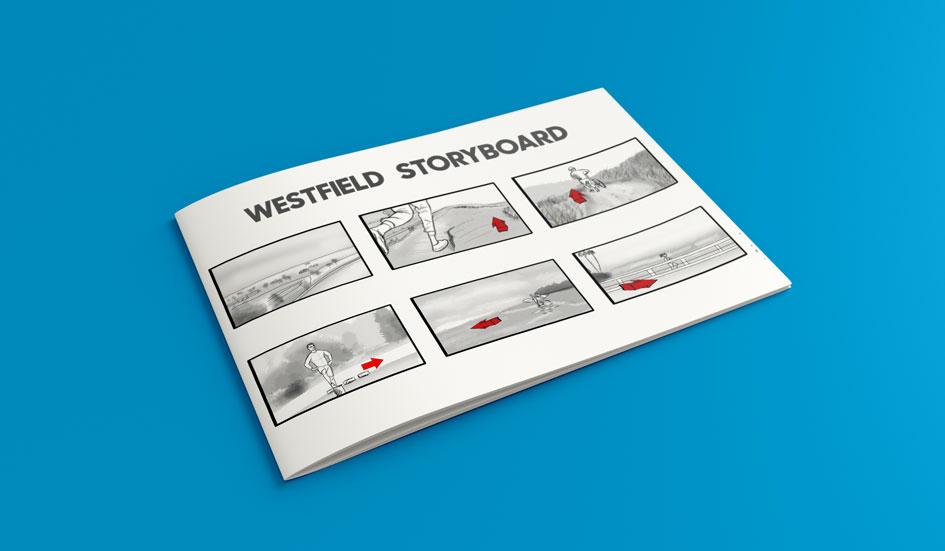 Westfield film storyboard